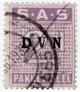 (I.B) South Africa Railways : Parcel Stamp 2d (Afrikaans)