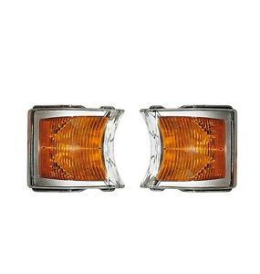 2 x Tagfahrlicht LED Blinker Vorne Blinker für Scania P G R  E4-Kennzeichnung
