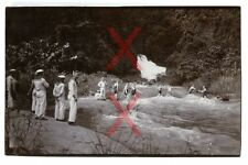 KREUZER EMDEN, orig. Foto, Badende Besatzung, Sulawesi, Celebes, Indonesien 1927