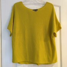 Vince 100% Cashmere Dolman Style Sweater Blouse Short Sleeve XS