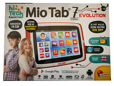 "Lisciani Mio Tab 7"" tablet bambini 300App Evolution Android 77380 16GB WiFi"