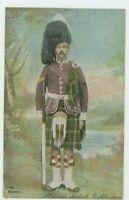Sergeant, Seaforth Highlanders Shureys Military Postcard, B993