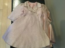 Doll Terri Lee Clothing Terri Lee Pink Lame Formal Coat tagged 1950's