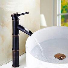 Bamboo Shape Design Hot&Cold Bathroom Basin Mixer Faucet Single Lever Brass Taps