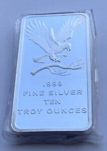 10oz 999 Silver Bar SILVERTOWN