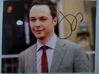 "Jim Parsons ""Best Actor'"" 8x10 Signed Photo Auto"