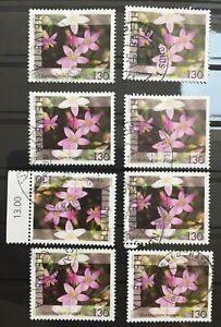 Timbres Suisse 2003 oblitérés YT CH 1749. Fleurs, plantes