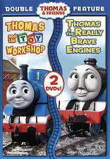 Thomas & Friends: Thomas & the Toy Workshop/Really Brave Engines DVD NEW SEALED