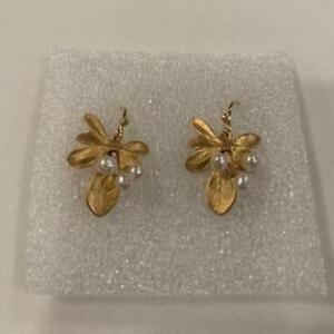 Michael Michaud Retired Barberry Drop Wire Earrings 3224 BZG Retail $74