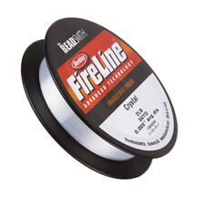 "Fireline Braided 2LB 0.003"" (0.08mm) Dia. Beading Thread Crystal 50yd (G104/1)"