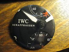 IWC Schaffhausen Multi Dial Swiss Watch Advertisement Pocket Lipstick Mirror