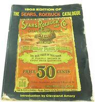 .1902 SEARS ROEBUCK CATALOGUE / CATALOG. REPRODUCED 1969.