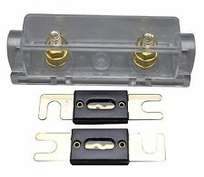 New listing Aps Ny Shipping Anl Fuse Holder Inline 0 4 8 Ga Gold Plated Free 2X150A Anl