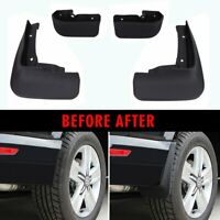 4x Molded Splash Guards Mud Flaps For Volkswagen VW T6 Transporter 2016-2018