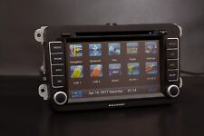 Vw Blaupunkt FD 466 Double 2 DIN Car Stereo DVD Player Sat Nav