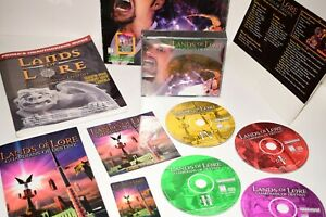 Lands of Lore Guardians of Destiny Westwood PC Game Big Box w/ Prima's Guide