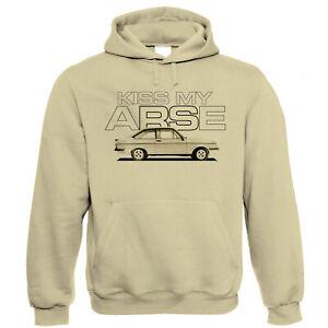 Kiss My Arse Escort Mk2 RS2000, Hoodie - Funny Motoring Gift Him Her Birthday
