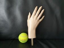 Old 1970s Right Female Mannequin Hand Realistic Ex Details