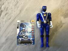 Power Rangers RPM Blue Ranger Action Figure 2008 with Card Rare *****