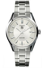 WV211A.BA0787 TAG HEUER CARRERA AUTOMATIC SILVER STAINLESS STEEL MENS WATCH
