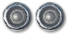 "Marinavox 1"" inch Titanium Dome Tweeter Speaker PAIR 60Wmax Stainless Spa Boat"