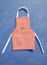 1/12, dolls house Kitchen, miniature Apron Pinny Maid doll Cook Chef shop BN LGW