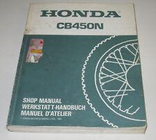 Werkstatthandbuch Honda CB 450 N Motor Getriebe Ölpumpe Öl Pumpe Stand 1985!