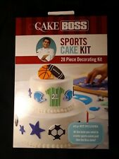 Cake Boss Sports Cake Kit 28-pieces Decorating Kit - cake decorating birthday