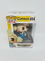Funko CUPHEAD Sally Stageplay with Mouse Pop Vinyl Games Figure NEW Box 414