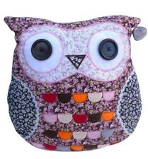 Owl Pillow Case Bed Sofa Throw Cushion Pillowcase with Insert FREE DELIVERY