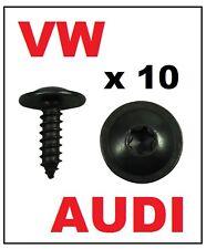 10 x VW AUDI ENGINE COVER UNDERTRAY SPLASHGUARD WHEEL ARCH METAL TORX SCREW