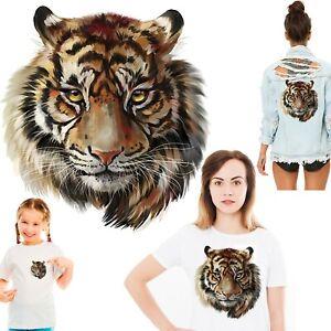 Tiger head Heat Transfer -  animal wildcat cat prey predator tigers India wild