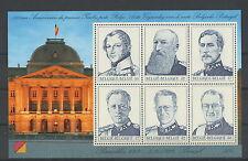 België blok nr. 80 xx -  de 6 Belgische koningen -  postfris