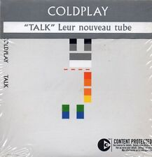 ★☆★ CD Single COLDPLAYTalk 2-track CARD SLEEVE with french sticker    ★☆★