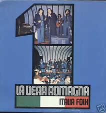 LA VERA ROMAGNA italia folk LP ARC znlac34096 SIGILLATO