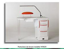 Tavolo Banco da Lavoro WNS R Work Nail Station Ricostruzione Unghie e Manicure
