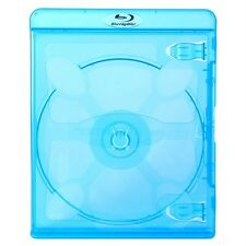 NEW! 100 VORTEX eco-LITE Premium Blu-ray Single Disc Cases 11mm - Holds 1 Disc