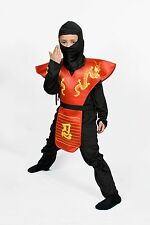 Ninja costume for boys red Size Small  Medium Large Lowest price