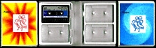 Skating Music Cassette Holder - Holds 4 Cassettes - Clearance Sale - Save 50%!