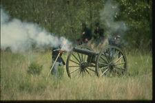 261078 Union Artillery Firing Louisa County Civil War Re enactment A4 Photo Prin