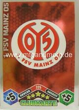 Match Attax 1. FSV Mainz 05 #335 Wappen 10/11