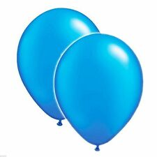 Pack of 10 Blue Pearl Finish Balloon/Ballons - XBP102