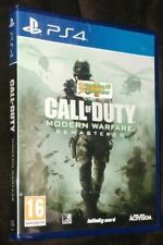 Call Of Duty COD Modern Warfare Remastered Playstation 4 PS4 NEW SEALED