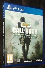 Call of Duty Modern Warfare Remastered (PlayStation 4, 2017)