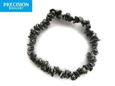 Hematite Chips Stretch Healing Bracelet Grounding Gemstone Crystal Bead