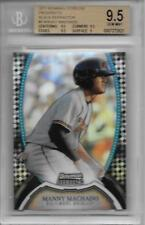 2011 Manny Machado Bowman Sterling Black Refractor RC- BGS 9.5 Gem Mint... #5/25