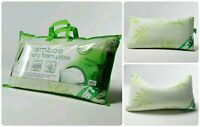 New Luxury Bamboo Memory Foam Pillow, Anti-Bacterial Premium Support Pillow