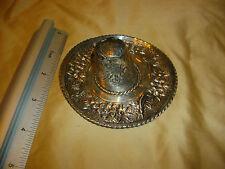 f ramirez 925 henco en mexico silver sterling sombrero hat 4 inch diameter