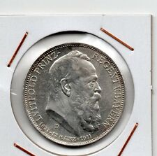 Bayern ( Germany ) : 3 Mark 1911 D XF+ ( silver ) high quality