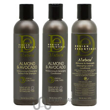 Design Essentials Natural Almond&Avocado Shampoo/Conditioner/Leave-in /Nail File
